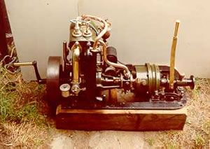1908 Brooke 4HP engine and gearbox