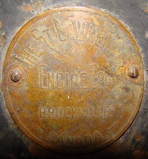 St.Lawrance Brass Tag