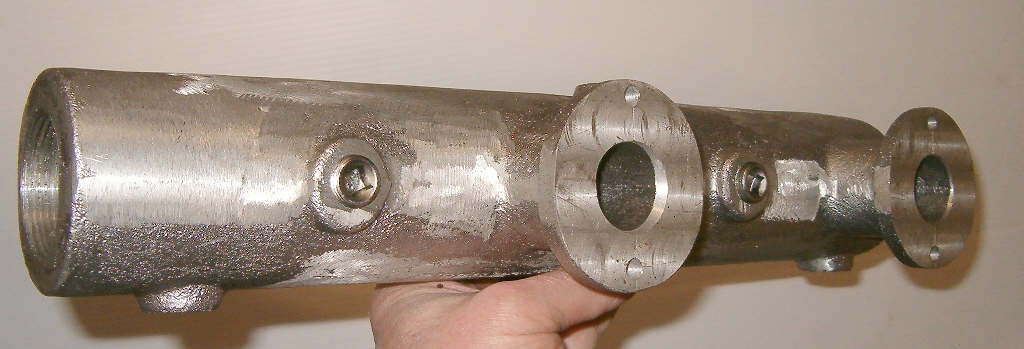 Waterman B2 aluminum exhaust manifold