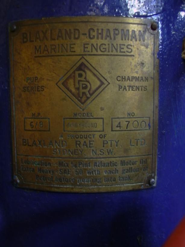 engine's badge
