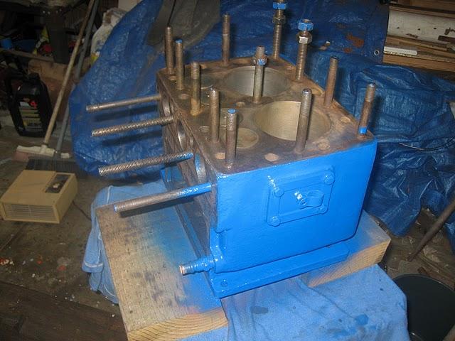 Simplex engine block