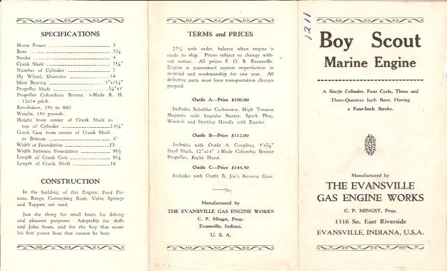 Boy Scout Flyer Front