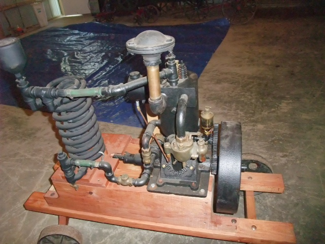 Boy Scout Engine Left Side