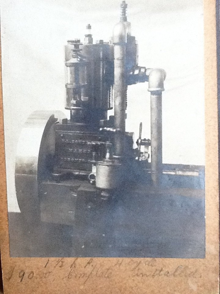 Single cylinder 4 cycle Southam