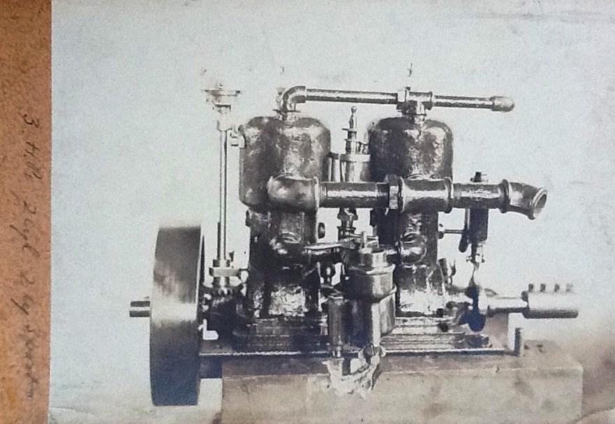 2 cyl 2 stroke T.L.Southam engine
