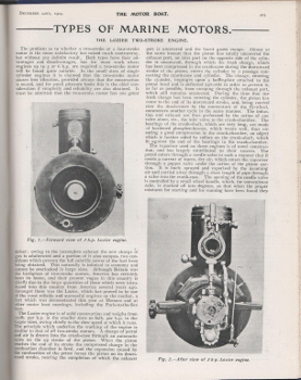 Motor Boat article p405