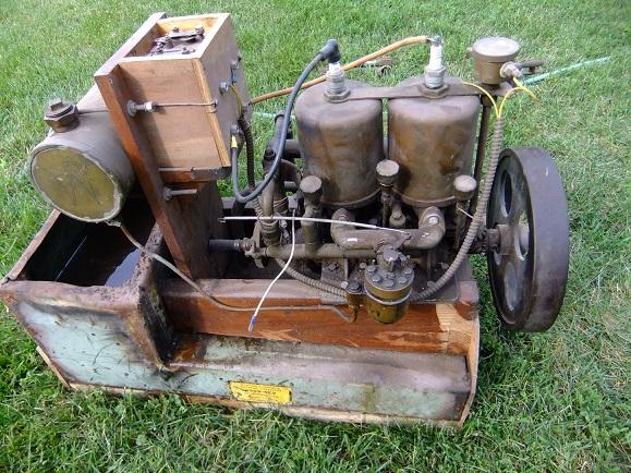 Old Marine Engine Waterman K2