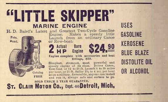 Little Skipper Ad 1