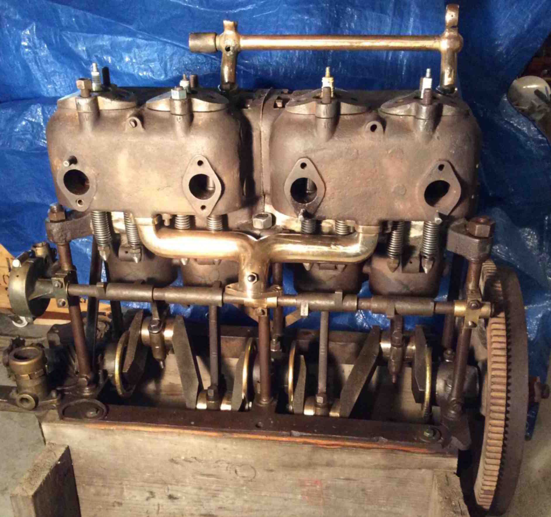 Old Engine Gears : Old marine engine standard new gears