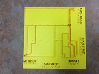 3D Printed Emergency Exit Plan