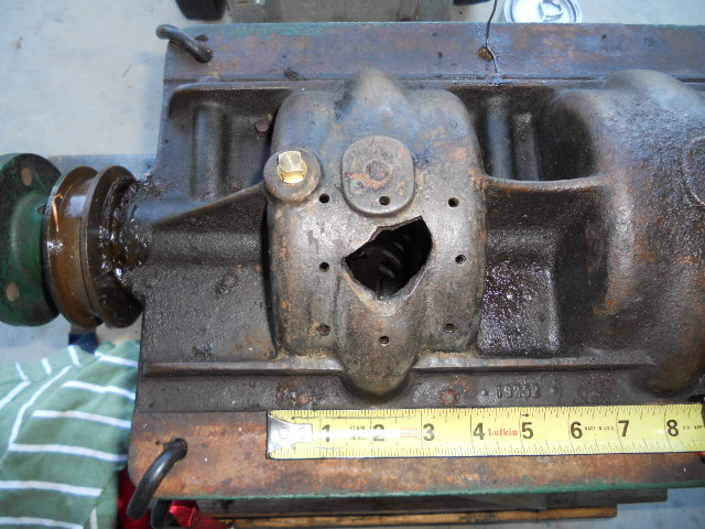 Gray Flyer with hole in crankcase