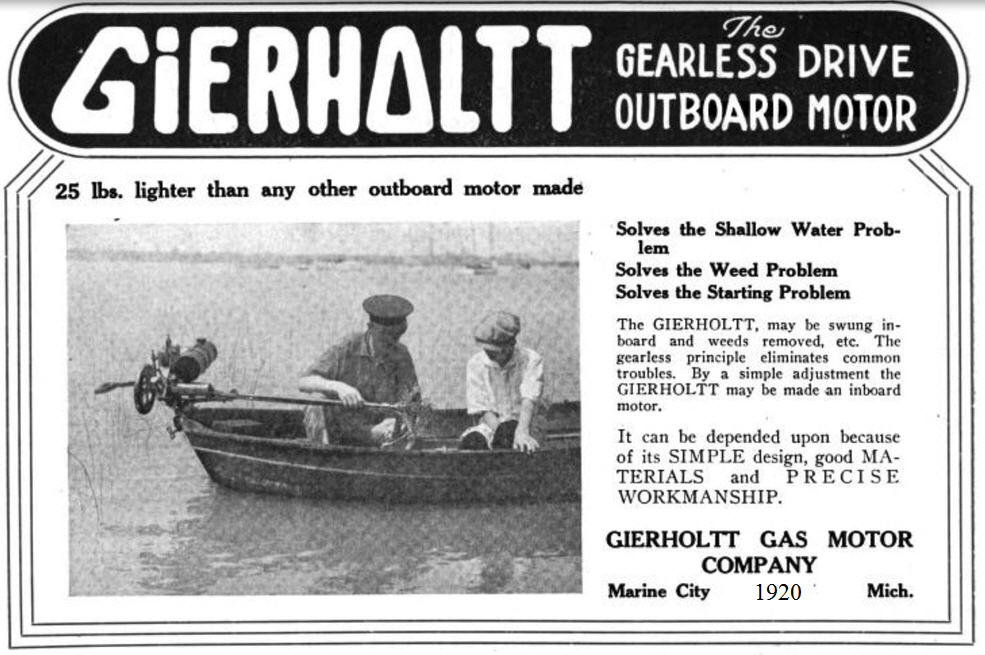 1920-Gierholt-Boat advertisement