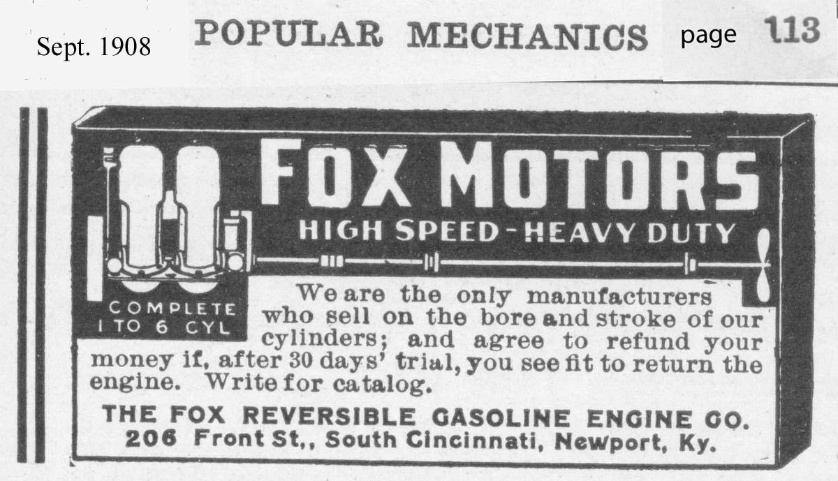 Fox engine ad