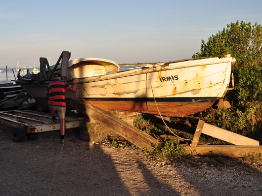 Pinasse Fishing Boat