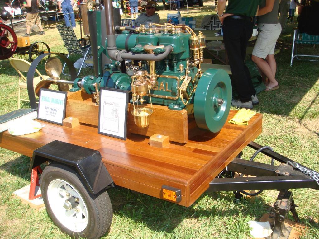 Regal Marine Engine Post Restoration
