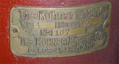 Kuhner Engine Label