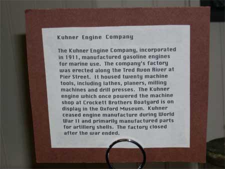 Kuhner display label