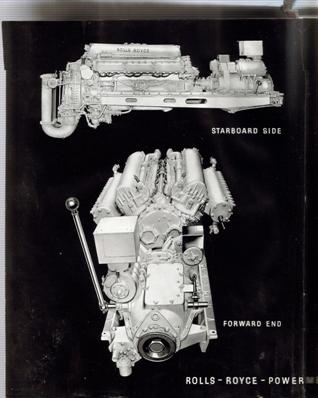 Rolls Royce Merlin Marine