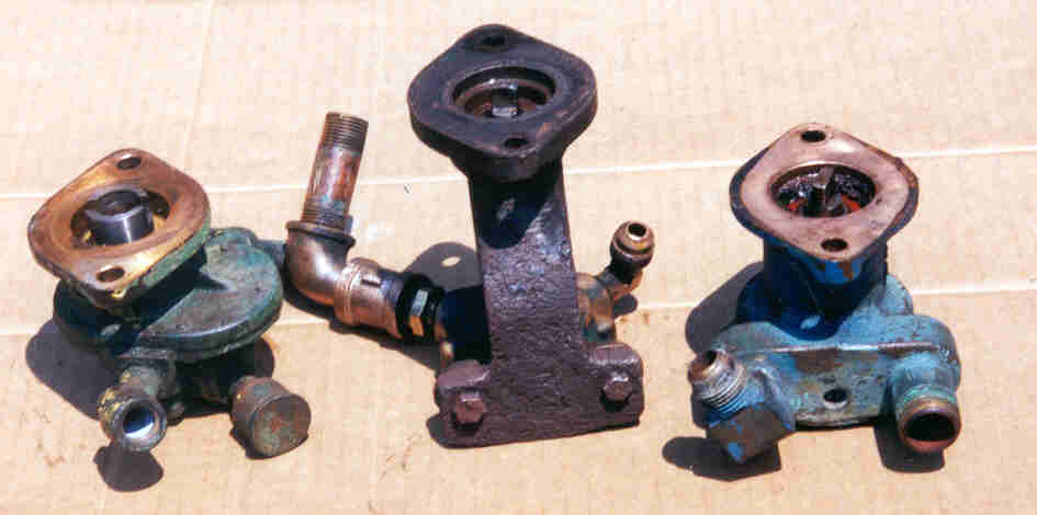 M-60 and P-60 Palmer water pumps. 2 of 2   L to R early, mid year