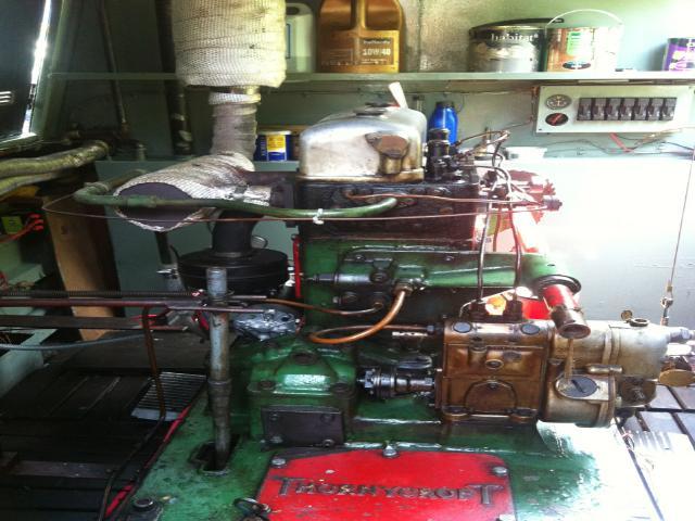 Thornycroft Engine