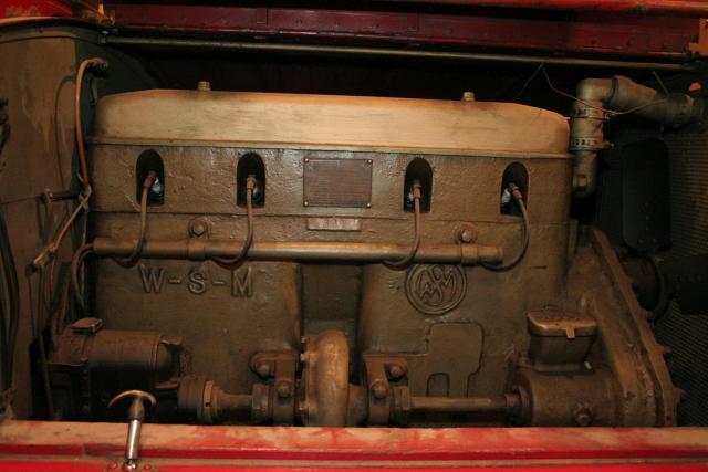 WSM JVB Jr engine right side
