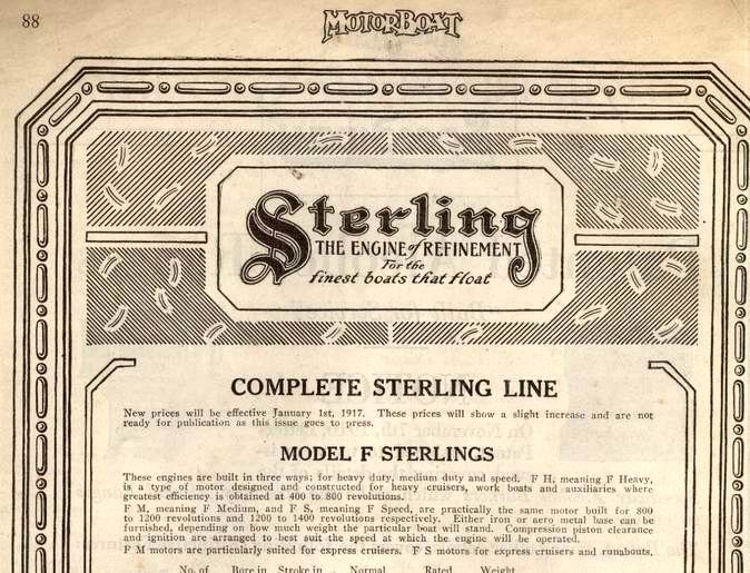 Sterling Model F