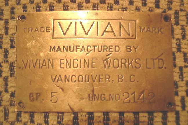Vivian Engine Plate