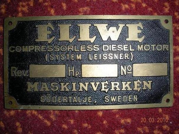 Ellwe plate (nos)