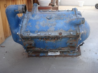 old marine engine perkins marine diesel engine  i have a perkins t6 354 turbo intercooler for b box it has been pressure tested 500 00 in long beach ca