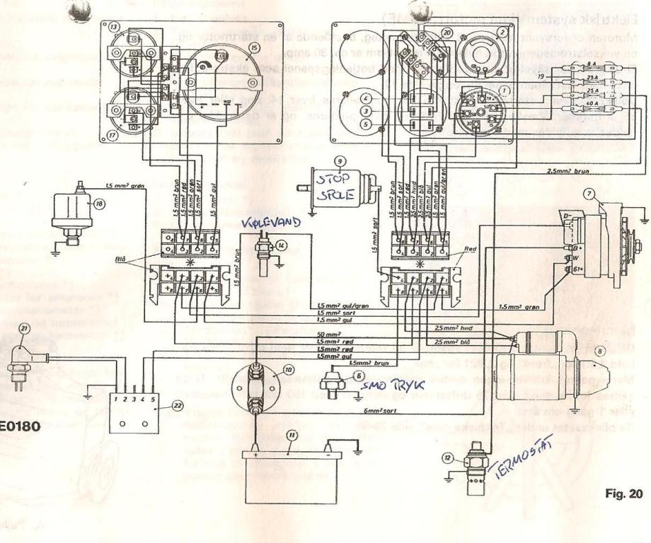 Old Marine Engine  Sev Marshal Connections