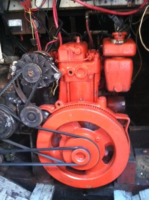 Generator mount on a Sabb