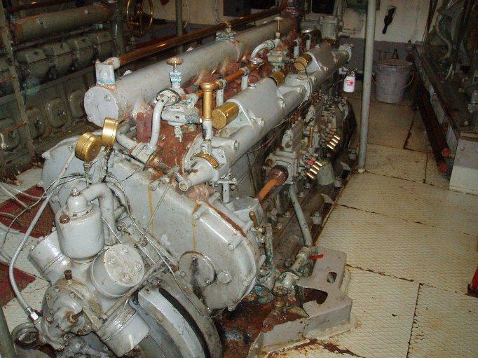 Glenniffer engine in line