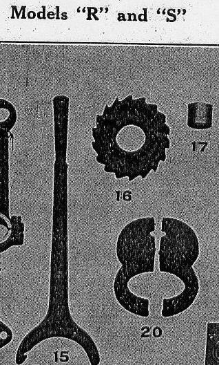 Starting lever, ratchet and ratchet plug