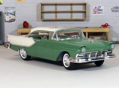 1957 Ford Fairlane with Cumberland Green paint