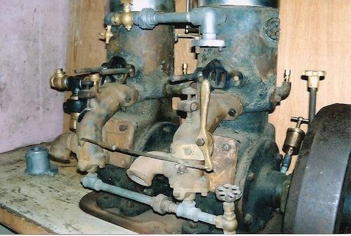 Straubel engine as found