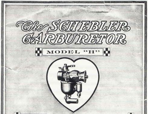 Old Marine Engine: Schebler carb for a Harley