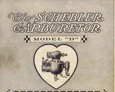 Old Marine Engine: Schebler Carburetor History
