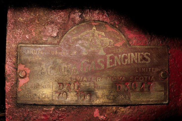 My engine identification plate