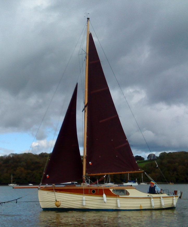 Wanda - belived built by Harry Feltham, Portsmouth, UK
