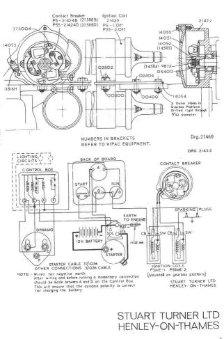 old marine engine  stuart turner p66d