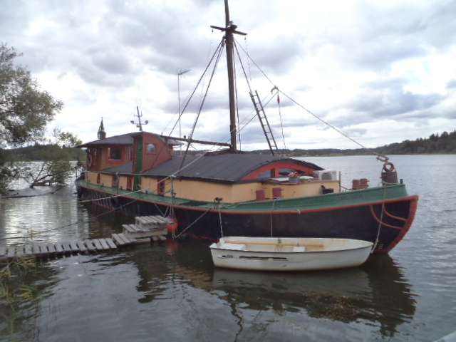 """Hildur"" my sister's barge in Sweden"