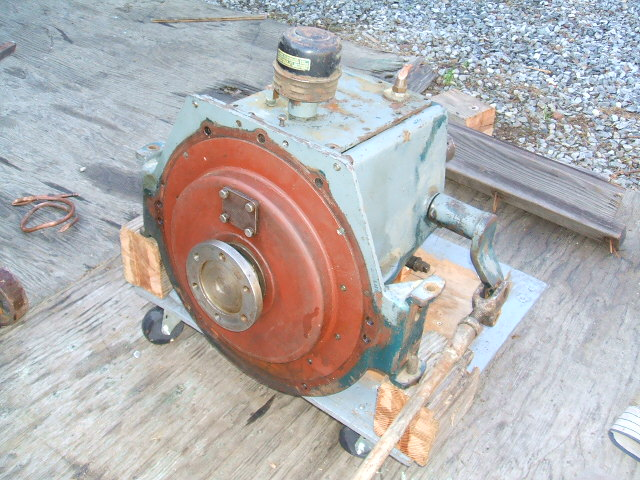 Old Engine Gears : Old marine engine reverse gear id