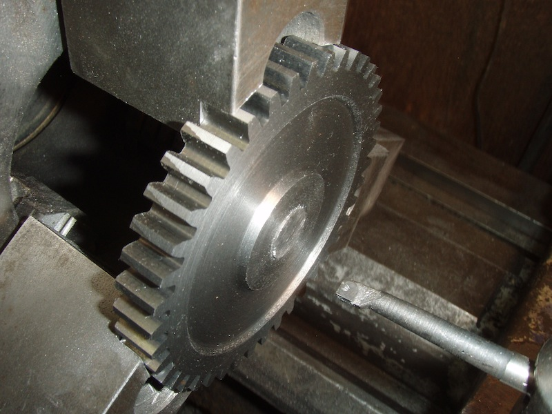 gear with tapered bore
