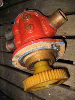 Gear on Jabsco Pump