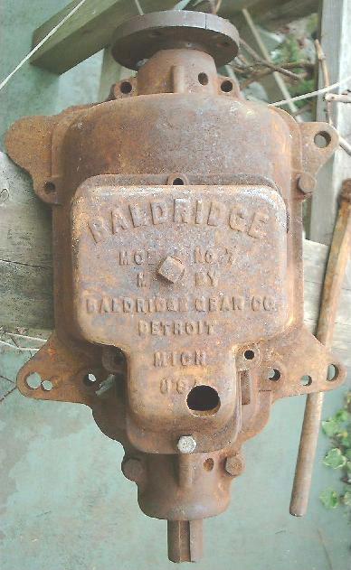 Baldridge No.7 Gear Markings