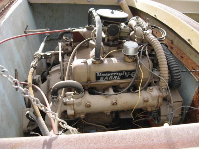 Old marine engine universal super sabre buick v6 225 cid 155 hp universal sabre v6 marine engine universal sabre v6 marine engine sciox Gallery