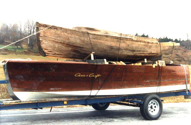 Truscott 16' launch hull.