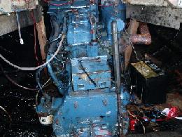 back of engine