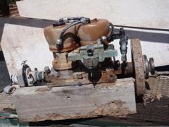 old inboard motor