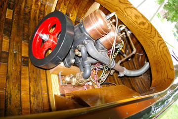 motor canoe engine